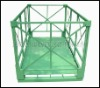 JS Industrial foldable metal container, Simply type storage cage
