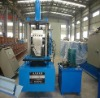 metal K type water channel roll forming machine