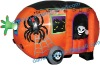 halloween decoration/advertisement inflatable halloween camper