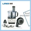 460W electric meat grinder with 3 reversible discs and knead dough knife