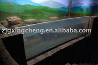 transparent acrylic tunnel