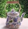 Korea Style Enamel Teapot