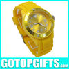 2012 hot sell men watch stainless steel back water resistant