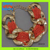 hot 2013 Valentine's Day gifts glowing ebullient gloden chain bracelet