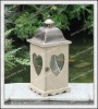 Best Seller!!! Metal chemical wash square metal lantern H11A2122