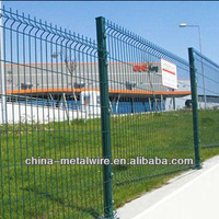 PVC painted welded wire fence