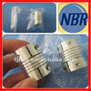 Aluminium flexible shaft coupling