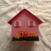 easter day gifts felt house model