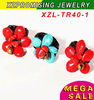 red turquoise stone rings manmade top quality exquisite design