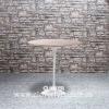 Eero Saarinen Tulip Side Table Wooden Top