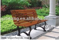 Nice outdoor furniture wooden bench