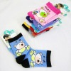 brand kids socks wholesale ,cartoon style of boy and girl socks