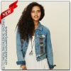 Baja Style Skinny Supersoft Denim Jacket for Women(WJ0236)