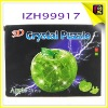 enlighten brick toys DIY crystal apple puzzle IZH99917