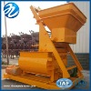 Twin-shaft JS500 concrete mixer