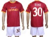 High quality mens football uniform