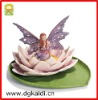 Lotus girl figure for home decoration
