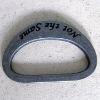 metal logo ring/alloy D ring/bag ring with logo