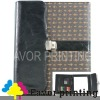 2012 New Leather folder with lock for business (F-J852)