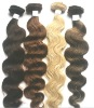 Fashion remy human hair weaving 16inch body wave
