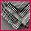 Plain/Serrated and Hot dipped galvanized steel grating