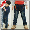 2013 New Style High Quality Classic Jeans Trousers Straight Leg Fashion Boys Jeans For Kids