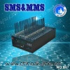 Intelligent 32 port gsm modem RS232/USB interface,850/900/1800/1900MHZ gsm/gprs bulk sms gsm modem with external antenna