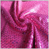 poly spun knitted jersey sequin fabric for fashion garment