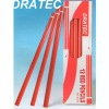 Wooden red color marking pencils