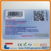 RFID smart card with barcode ,QR code printing