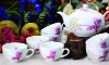 GH-T-06 bone china chinese family tea sets