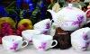 GH-T-06 bone china chinese family tea sets