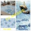 Flower Swimming Pool Mosaic Pattern with Glass Mosaic