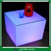 RGB rechargeable Led cube, Led cube table, Illuminated furniture,