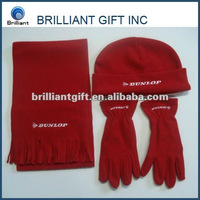 Promotion winter set-hat,glove,scarf