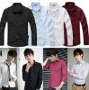 mens casual slim fit shirts