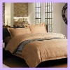 4pc Hotel Solid Square Duvet Cover Bedding Set Queen