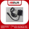 Mini HDMI to VGA Adapter converter cable VGA with Audio active for TV PC Laptop Projector DVD