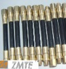 SAE J517 R2S fuel gas oil delivery hose high pressure hydraulic rubber tube