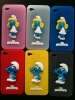 3D blue sprite silicone cellphone covers for Iphone 4/4s
