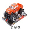 Friction power monster orange toy car car toy