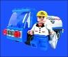 59pcs plastic educational toy new style diy hot block toy