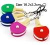 table tennis bat LED Light keychain