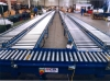 Dynamic roller conveyor