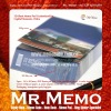 3D Slant Memo Pad/ Note Pad/ Memo pad Customized for Capital Museum China