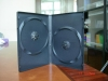 14mm black Double DVD case