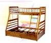 pine wood bunk bed