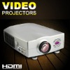 2000 ANsilumens TV projector with HDMI and VGA/TV /AV/S-video/DVD input