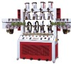 Shoe Machine/SD-689E Heel Setting Machine Vertical Four Cooling(air bag)-Eight Heting(hot air activating)