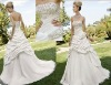 Bridal dress gown taffeta sl-1754